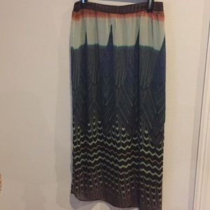 NWOT ✨ Anthropologie - Colorful Skirt